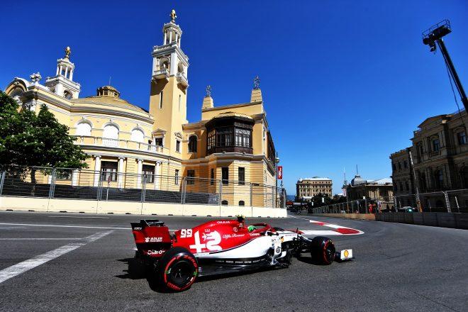 2019年F1第4戦アゼルバイジャンGP アントニオ・ジョビナッツィ(アルファロメオ)