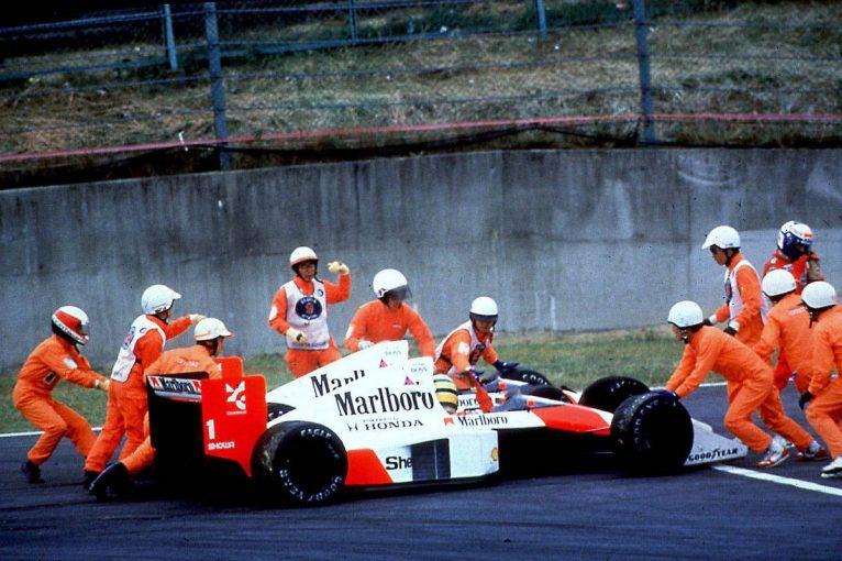 F1 | 【アイルトン・セナの思い出】PART5:鈴鹿で2度のクラッシュを引き起こしたセナ・プロ対決