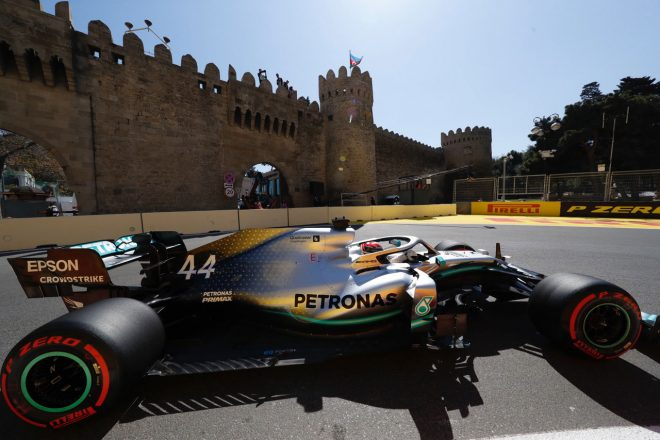 2019年F1第4戦アゼルバイジャンGP ルイス・ハミルトン(メルセデス)