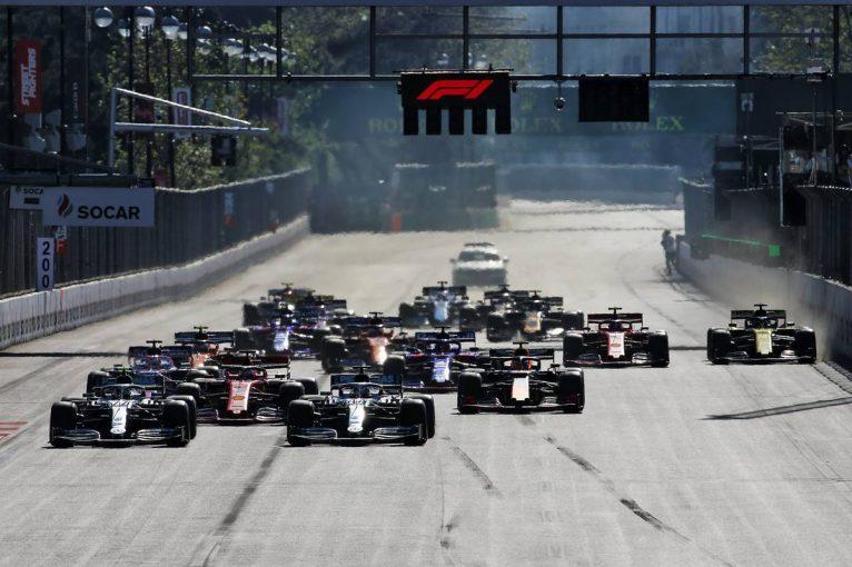 F1 | 【順位結果】F1第4戦アゼルバイジャンGP 決勝