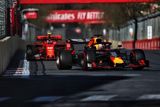 2019年F1第4戦アゼルバイジャンGP マックス・フェルスタッペン(レッドブル・ホンダ)
