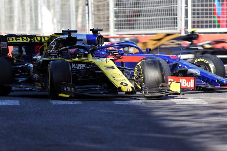 F1 | クビアトにヒットしたリカルドに、次戦スペインGPで3グリッド降格のペナルティ