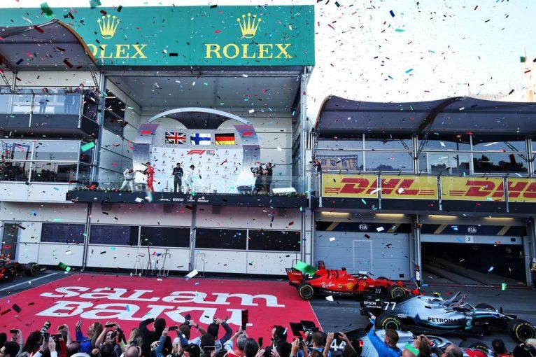 F1 | 【動画】F1第4戦アゼルバイジャンGP 決勝ハイライト