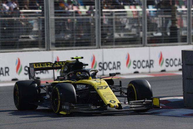 2019年F1第4戦アゼルバイジャンGP ニコ・ヒュルケンベルグ(ルノー)