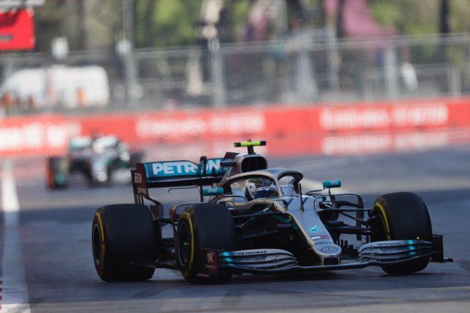 2019年F1第4戦アゼルバイジャンGP バルテリ・ボッタス(メルセデス)
