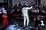 F1 | ボッタス、今季2勝目で再びランキング首位に「ハミルトンとのクリーンなバトルを制することができ最高の気分」:メルセデス F1アゼルバイジャンGP日曜