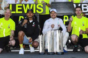 F1 | ライバルを寄せ付けないメルセデス、4戦連続1-2の鍵はチームにそなわる挽回能力【今宮純のF1アゼルバイジャンGP分析】