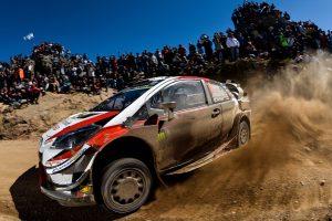 ラリー/WRC | WRC:トヨタ、最終SSで表彰台逃すも全車が得点。「次戦で表彰台に返り咲く」とマキネン