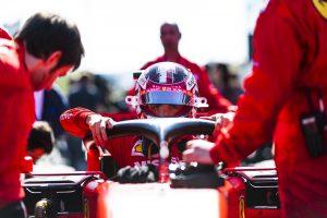 F1 | ルクレール5位「早い段階で『上位に追いつける見込みはない』と言われ、ファステスト狙いに切り替えた」:フェラーリ F1アゼルバイジャンGP日曜