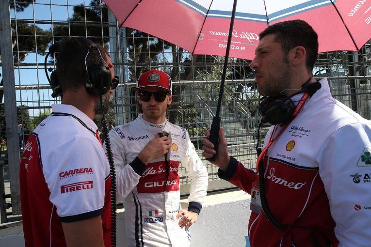 F1 | ジョビナッツィ「セーフティカーが出なかったので、トップ10を狙う機会がなかった」アルファロメオF1 アゼルバイジャンGP日曜
