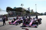 F1 | ペレス6位「マクラーレン勢を抑えきることに成功し、最高の一日に」:レーシングポイント F1アゼルバイジャンGP日曜