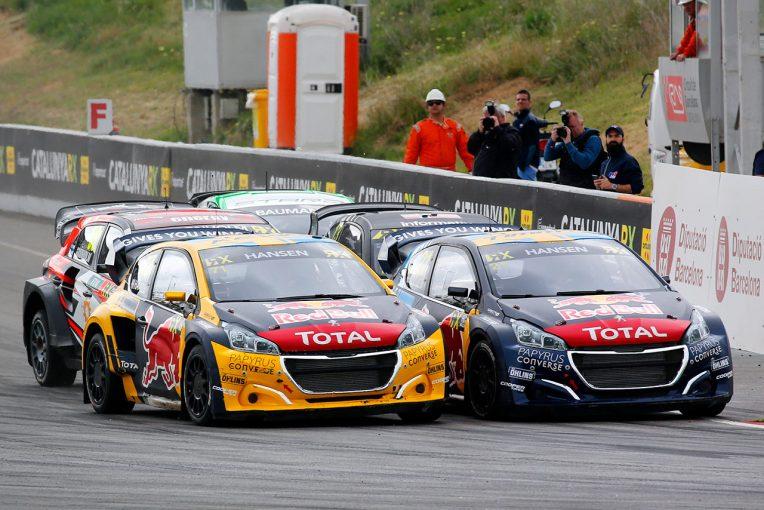 ラリー/WRC | 世界ラリークロス第2戦:ハンセン兄弟のプジョーがワン・ツー。兄ティミーは全セッション制覇の偉業