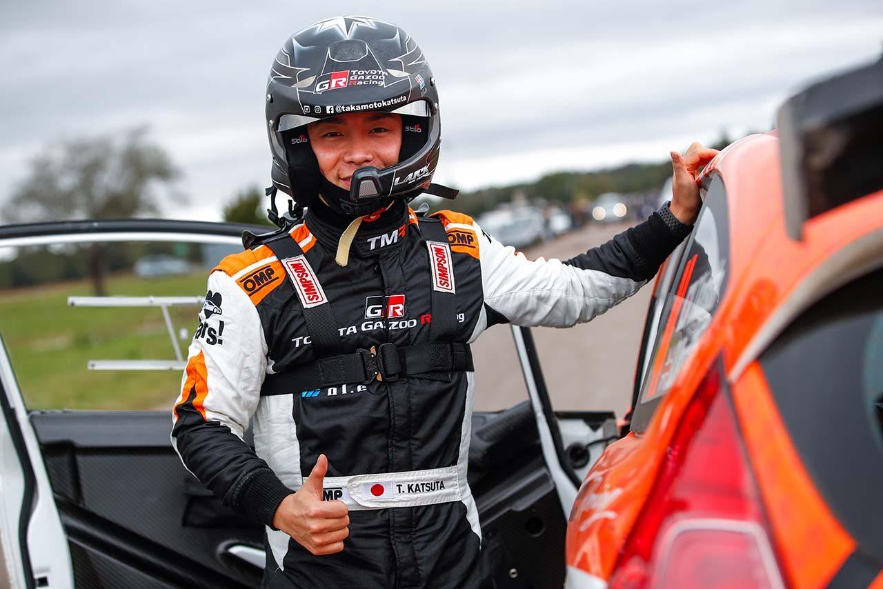 トヨタのラリー育成ドライバーとして活動している勝田貴元