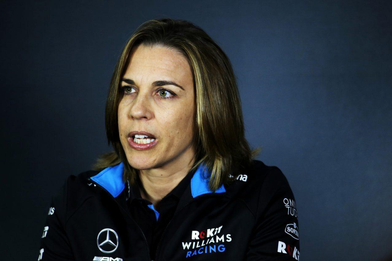 2019年F1アゼルバイジャンGPでのクレア・ウイリアムズ