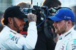 F1 | メルセデスF1代表、ハミルトンとボッタスの良好な関係維持を望む「互いに敬意を持ち続けるべき」