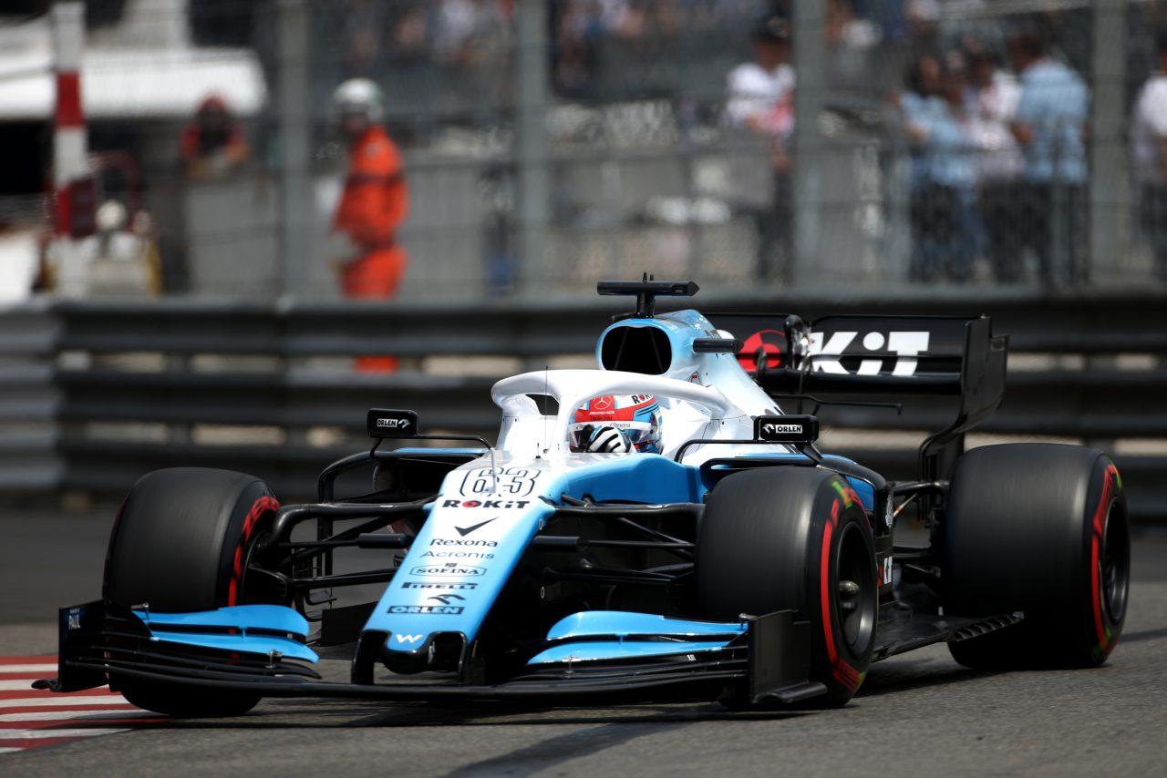 2019年F1モナコGPでのラッセル