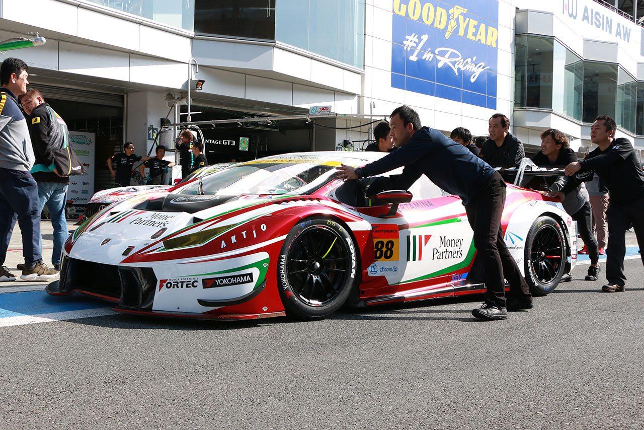 マネパ ランボルギーニ GT3