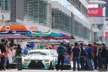 スーパーGT第2戦予選日を翌日に控えた5月2日、富士スピードウェイではレースに向けた準備が進められた