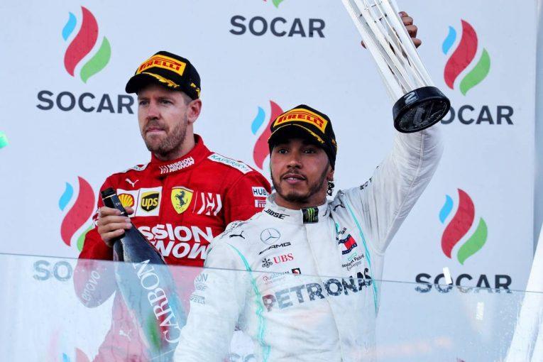 F1   ハミルトン「タイトル争いのライバルをひとりに絞るのは時期尚早」