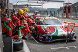 AFコルセの71号車フェラーリ488 GTE Evo
