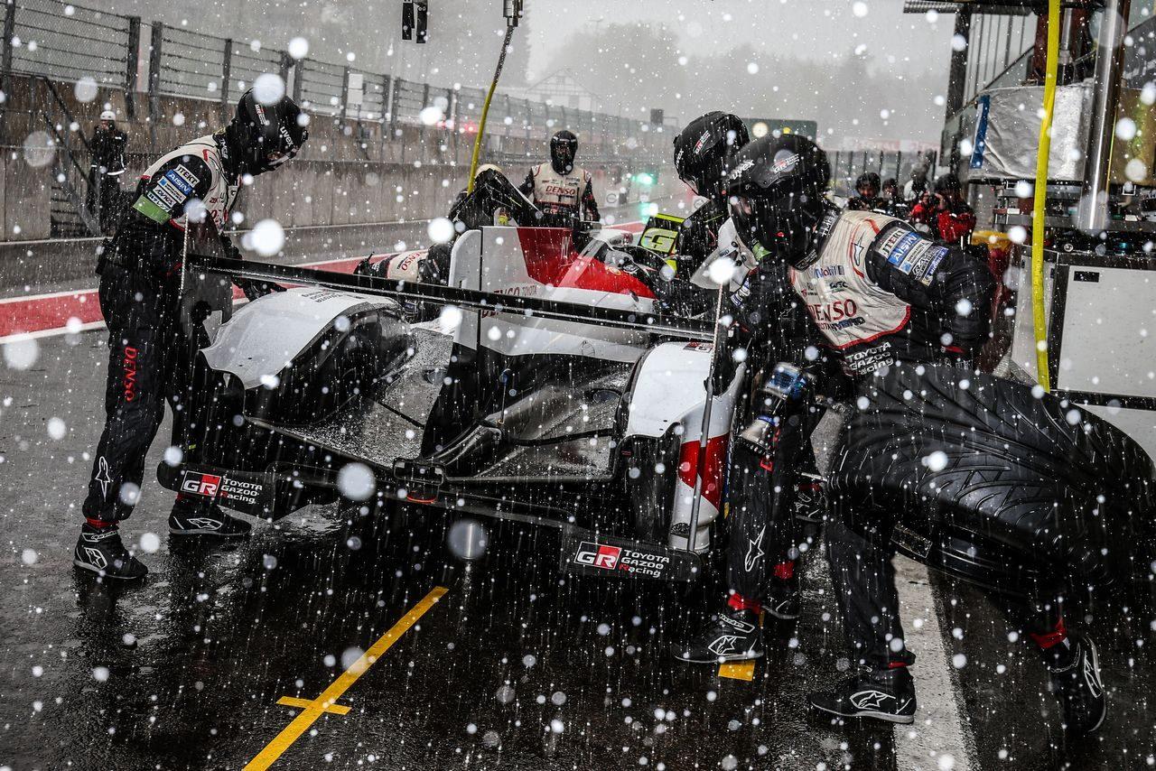 WECスパ:トヨタ、8号車の勝利で2014年以来のタイトル獲得。トラブル発生の7号車も完走果たす