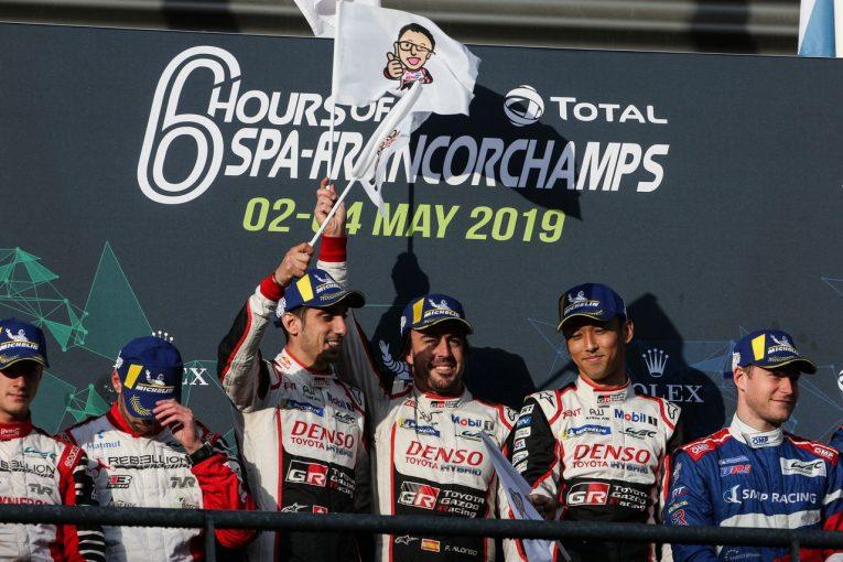 ル・マン/WEC   戴冠のトヨタWECチームに豊田社長からメッセージ。「6人のドライバーとチームメンバー達を誇りに思う」