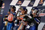 MotoGP | 最速ラップ更新のマルケス「常にコントロールしていた」/MotoGP第4戦スペインGP 決勝トップ3コメント
