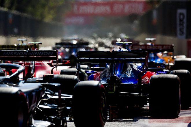 2019年F1第4戦アゼルバイジャンGP 決勝レース