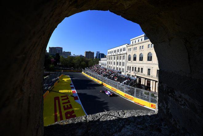 2019年F1第4戦アゼルバイジャンGP アレクサンダー・アルボン(トロロッソ・ホンダ)