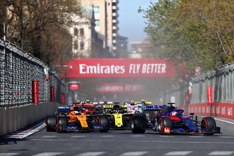 F1   バクーでは予選の速さを結果に繋げられず。開幕前テストでデータが豊富なスペインで巻き返しを/トロロッソ・ホンダF1コラム