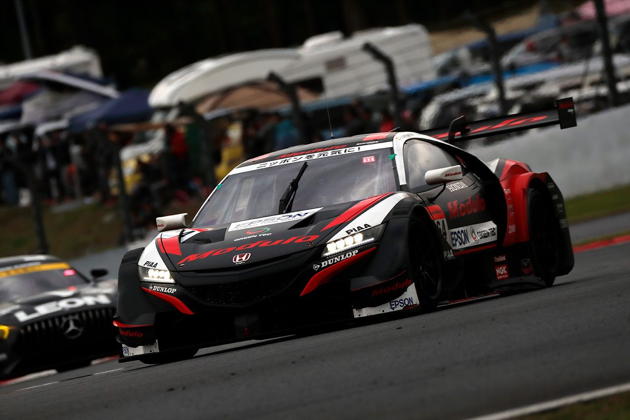 Modulo Nakajima Racing 2019スーパーGT第2戦富士 決勝レポート
