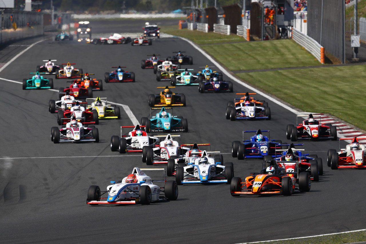 FIA-F4第4戦富士 スタートシーン