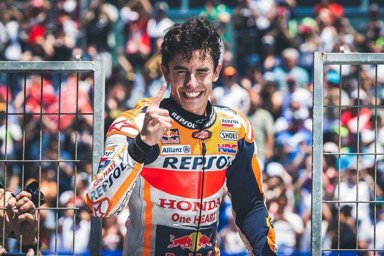 MotoGP   マルケスがMotoGP第4戦スペインGPで胸に秘めていた勝利の決意。「アルゼンチンのようなレースがしたかった」