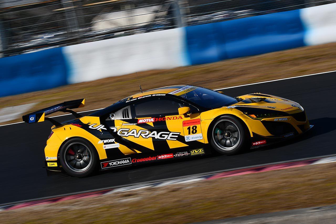 TEAM UPGARAGEが鈴鹿10時間にホンダNSX GT3で参戦。第3ドライバーに牧野任祐を起用