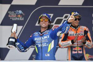 MotoGP | リンス、MotoGPスペインGPで9番グリッドからの2位獲得。「マルケスに近いペースだとわかっていた」