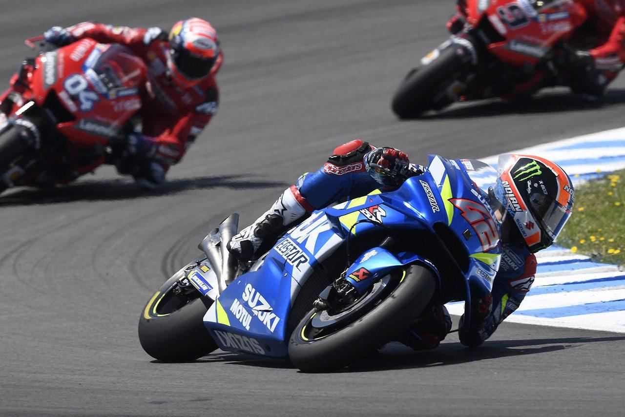 リンス、MotoGPスペインGPで9番グリッドからの2位獲得。「自分のペースがマルケスに近いとわかっていた」