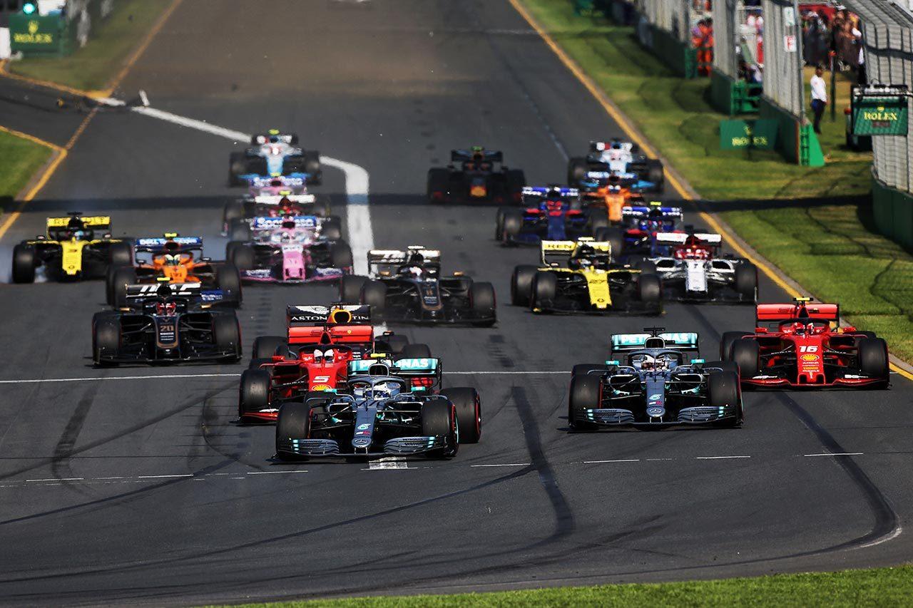 2019年F1開幕戦オーストラリアGP バルテリ・ボッタス(メルセデス)