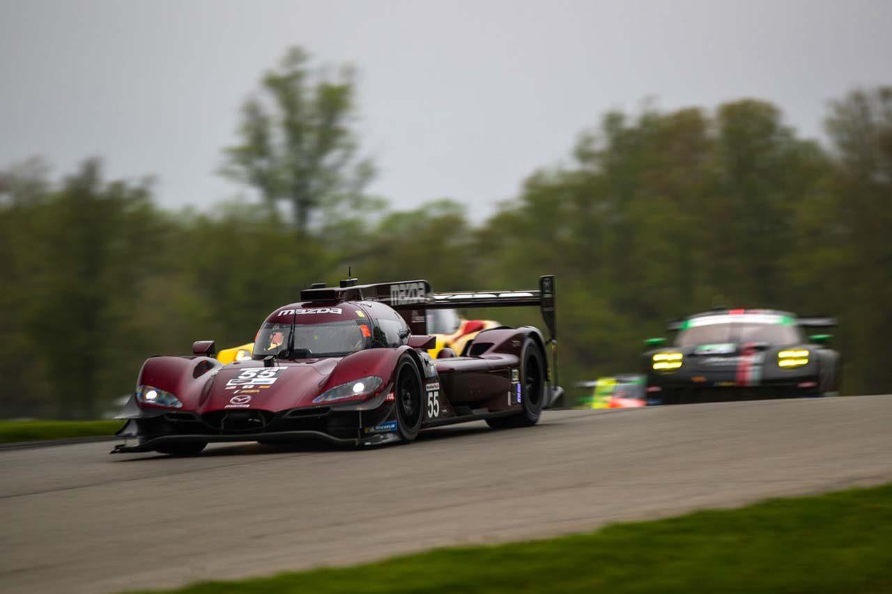 マツダ、IMSA第4戦でダブル表彰台獲得。「ポールも2回とり、あとは勝利を手にするだけ」