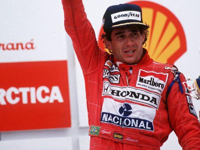 F1   【アイルトン・セナの思い出】PART12:ギヤボックストラブル発生も、執念で勝ち取った母国ブラジルGPの初優勝