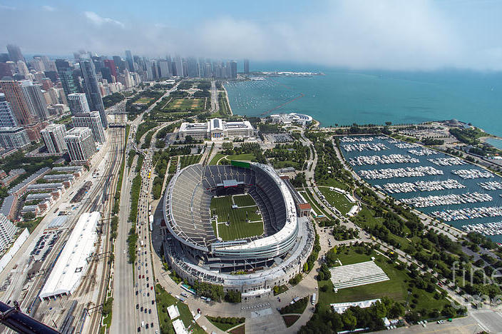 F1 | F1、シカゴのソルジャー・フィールドで今季2度目となるファンフェスティバルを開催