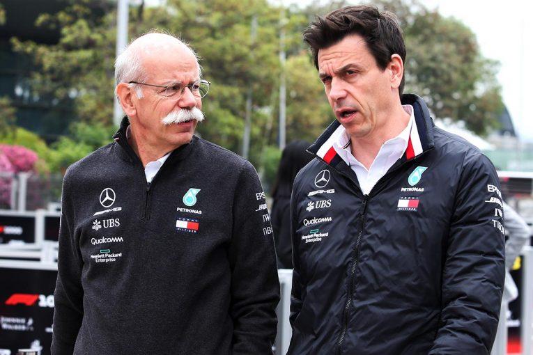 F1 | メルセデスF1代表トト・ウォルフ、F1のCEO候補となる可能性が浮上も将来については口を閉ざす