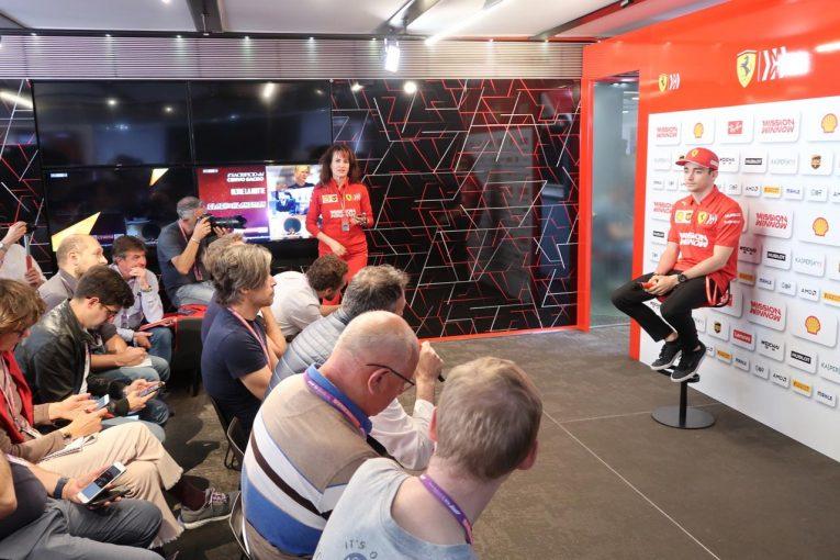 F1 | 完璧主義者ぶりを披露したルクレールにインタビュー:「マシンの戦闘力は十分だが、ミスで結果に繋がらなかった」