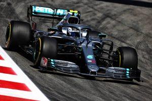 F1   F1第5戦スペインGP FP1:好調ボッタスがトップタイム。フェルスタッペンのマシンにトラブル発生