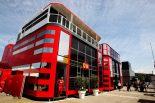2019年F1第5戦スペインGP フェラーリF1モーターホーム