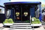 2019年F1第5戦スペインGP FIA モーターホーム