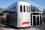 2019年F1第5戦スペインGP F1モーターホーム