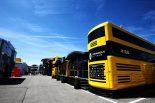 2019年F1第5戦スペインGP ルノー モーターホーム