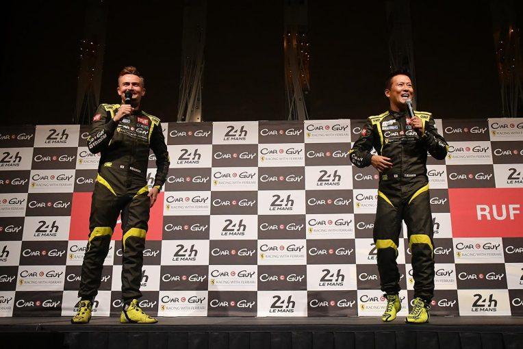 ル・マン/WEC   CarGuy Racingが600人の支援者を前にル・マン24時間優勝を誓う。第3ドライバーも決定