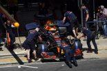 F1 | ホンダ田辺TD「オイル漏れによりフェルスタッペンのPUをスペック2に交換。プラン変更で慌ただしい一日に」:F1スペインGP金曜