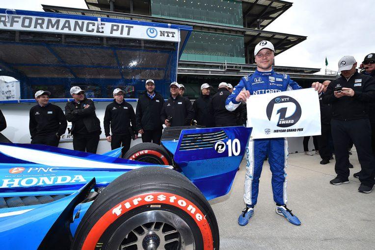 海外レース他 | インディカー第5戦:ローゼンクヴィストがチームメイトを抑え初ポール。琢磨は失速
